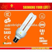 Novo! T4 3U CFL lâmpada 18W 1000H CE qualidade