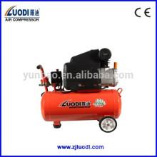 Pequeño compresor de aire portátil eléctrico hecho en china.