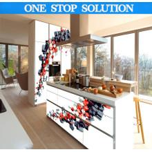 Pole Liner Style nach Maß Küchenschrank
