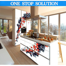 Pole Liner Style Custom Made Kitchen Cabinet