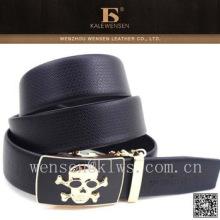 Cinturones de cuero italianos genuinos marrones al por mayor