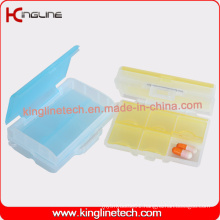 Latest Design Plastic 7-Cases Pill Box (KL-9119)