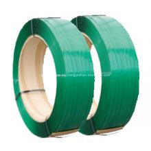Tiras de PET verde de alta resistencia