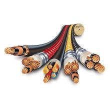 Экранированные гибкие кабели с подвижной и гибкой резиновой оболочкой