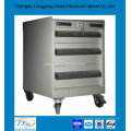 mobile custom 72 inch tool cabinet with drawers and lock
