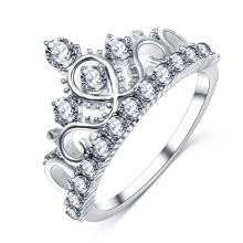Tiara Crown Wedding Engagement Ring for Women (CRI01005)