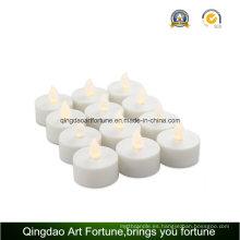 9pk LED velas luz de té para la decoración al aire libre del hotel