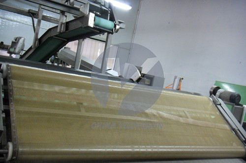 Food Grade Heat Resistant Ptfe Mesh Conveyor Belt China