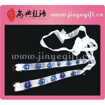 Guangzhou Shangdian mais recente fita azul Handamde Bra Strap