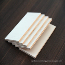 E1 glue combi core 18mm warm white melamine plywood for furniture
