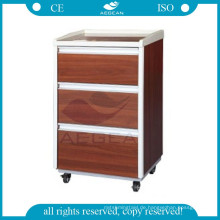 AG-BC004 Bewegliche Patientenzimmer medizinische Anwendungen aus Holz Krankenhaus Nachttische