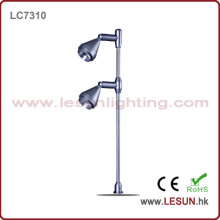 Double Lamp Head 2*1W LED Jewelry Standing Lighting (LC7310)