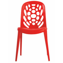 Современный открытый стекируемых пластиковый стул