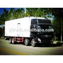 8X4 lecteur Dongfeng Réfrigérateur Camion / congélateur camion / camion de réfrigération / refroidisseur camion / camion réfrigéré / camion de refroidissement