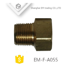 EM-F-A055 Brass female and male union press pipe fitting nipple