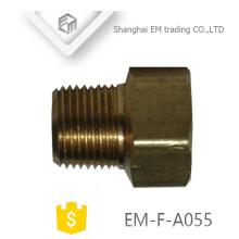 EM-F-A055 latão feminino e macho união tubo de encaixe de tubulação de imprensa
