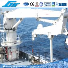 Grue marine boutonnière avec composants hydrauliques importés