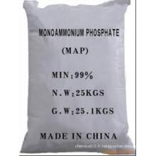 Map Engrais de phosphate monoammonium avec pureté 98%