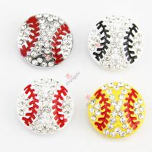 Nouvelle conception 8mm DIY Base Ball Slide Charms pour bijoux