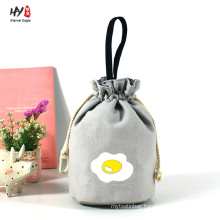 Multifunction cute canvas drawstring bag