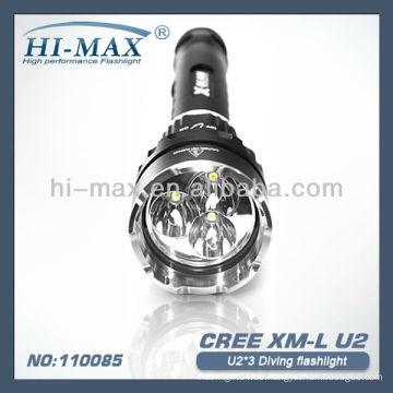 Hochwertige wasserdichte Tauch-LED-Taschenlampe