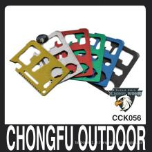 2015 couteau à carte multifonction multifonction coloré