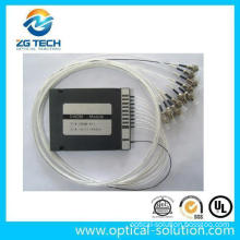 CWDM Module 8+1 Channel with ABS Box Packaged 0.9mm Fiber St Connector