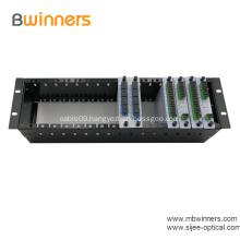Fiber PLC Splitter with 1U 19 Rack Mount
