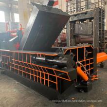 Empacadoras hidráulicas de perfiles de aluminio de virutas de hierro de chatarra