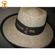 Wide Brim Cap Casual Summer Sunscreen Retro Women Straw Hat