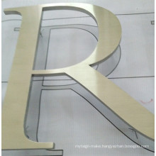 Building Business Office Apartment Indoor Outdoor Laser Waterjet Line Cutting Flat Cast Cut Metal Aluminum Acrylic Letter