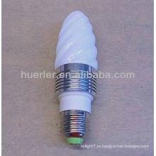 Лампы дневного света b22 привели к изменению цвета лампы канделябры