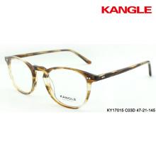 montures optiques acétate lunettes rayures lunettes slim rim eyeshape tous les visages