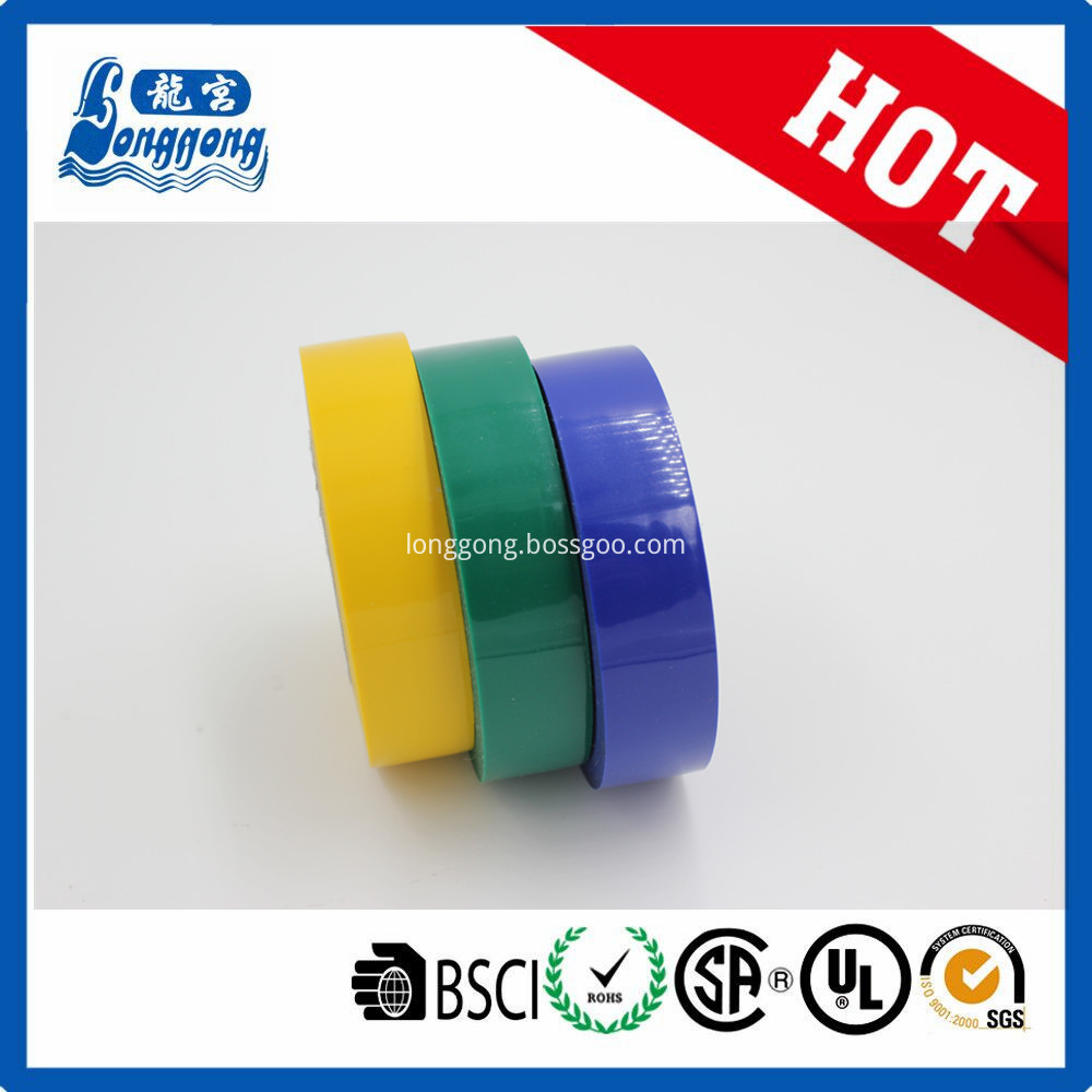 Shrink packing PVC adhesive tape