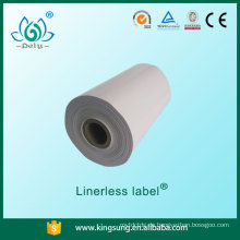 China nur Verkäufer Fabrik Preis Großhandel Farbe Linerless Label