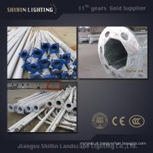 Pólo de iluminação de rua redondo ou poligonal de 6m8m9m