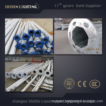 6m8m9m Round or Polygonal Street Lighting Pole