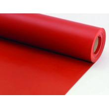 Tapis en caoutchouc néoprène ignifuge résistant au froid rouge pour le plancher
