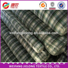yarn dyed shirting fabric for man shirts fabric stock cheap Wholesale yarn dyed shirting fabric 80% polyester 20% cotton