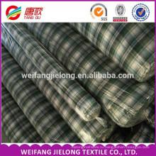 окрашенная пряжа ткани для мужские рубашки ткань складе дешевые Оптовая окрашенная пряжа рубашечная ткань 80% полиэстер 20% хлопок