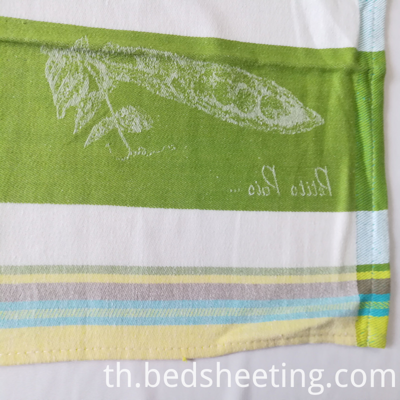 Yarn Dyed Tea Jacquard Tea Towel