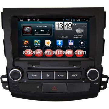 gps original del dvd del coche para mitsubishi outlander, Bluetooth, AIRPLAY, MIRROR-CAST, DVR, juegos, zona dual, control del volante