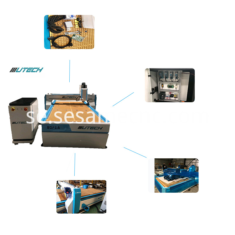 CNC cutting machine Oscillating Tangential Knife