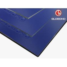 GLOBOND FR Panel compuesto de aluminio ignífugo (PF-462 azul oscuro)
