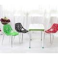 Metall-Außenstuhl Forest Armless Chair Gartenstuhl