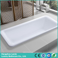 Rectangle Acrylic Bulit -in Bathtub (LT-3P)