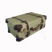 New design vintage wooden/cardboard suitcase manufacturers