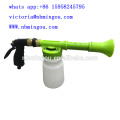 Low pressure foam lance fluorescent color spray lance