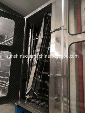 Glass washing machine part