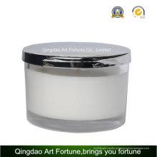 Vela de frasco de cera de soja para massagem SPA